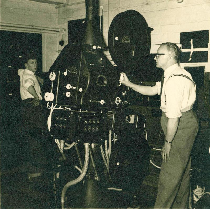 Projection box - Bristol Cinema, Birmingham (1953)