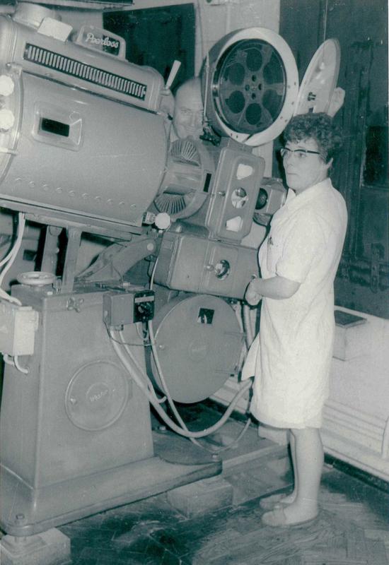 Projection Team - A.B.C. Aston Cinema, Birmingham