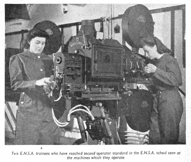 Women trainees during the Second World War